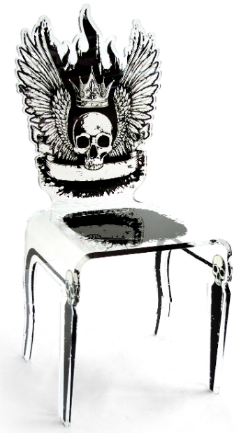 Lets Rock Chair Skull, Sweetpea & Willow £445.00