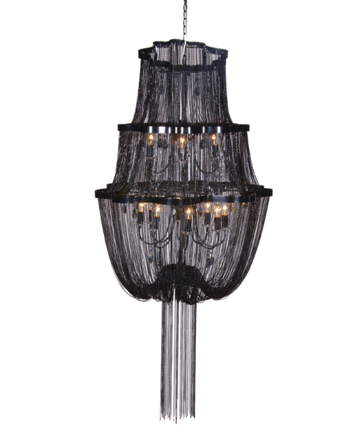 Gothic Chain Tower Chandelier, Sweetpea & Willow £1103.00