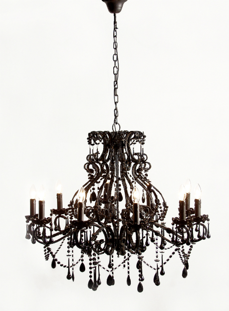 Sassy Boo Black Chandelier, The French Bedroom Company £495.00