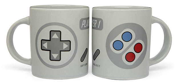 2 Player Gaming Mug Set, The Gift Oasis £24.99