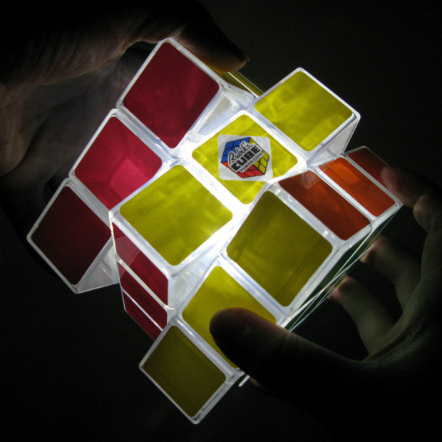 Rubik's Cube Lamp, The Glow Company £29.95
