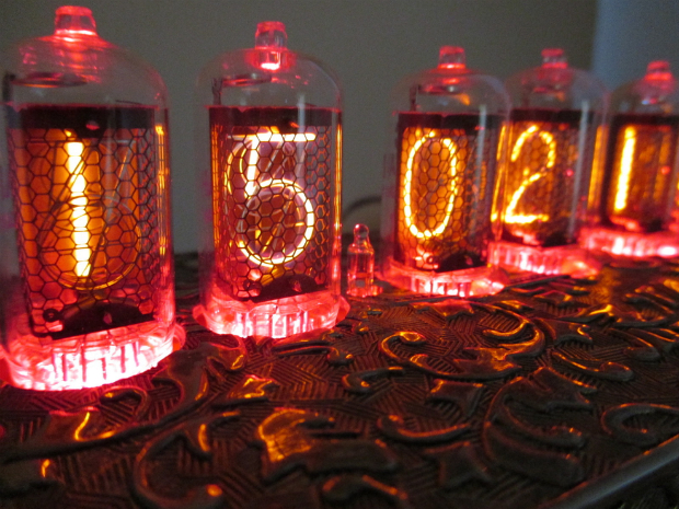 Bad Dog Designs Nixie tube clock 'Grace', Furnish £195