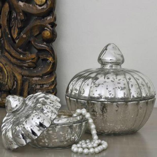 Pumpkin Trinket Jars, Furnish £12.50