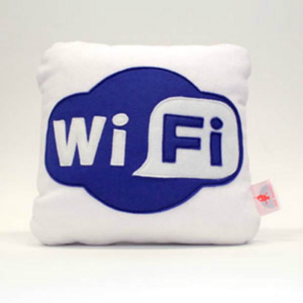 WiFi, Red Rocket Cushions £20.98