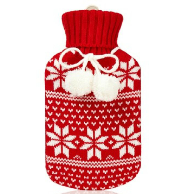 Fairisle Hot Water Bottle, Oliver Bonas £10.00