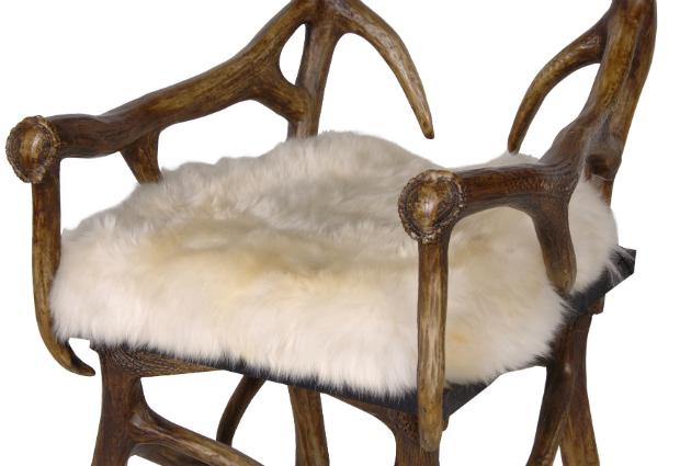 Real Sheepskin Seat Pad, Alexander & Pearl £195.00