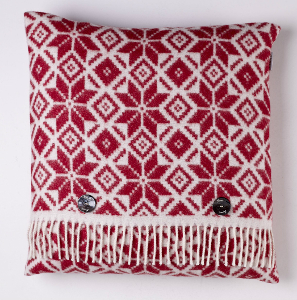 Snowflake Cushion, Annabel James £49.99