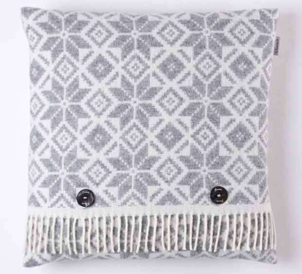 Snowflake Cushion, Annabel James £49.95