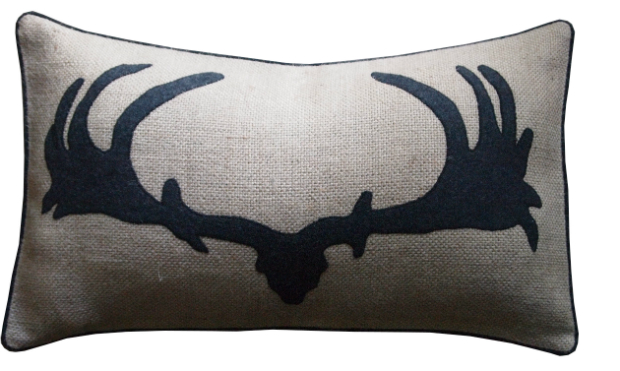 Antlers Cushion, Barbara Coupe £65.00