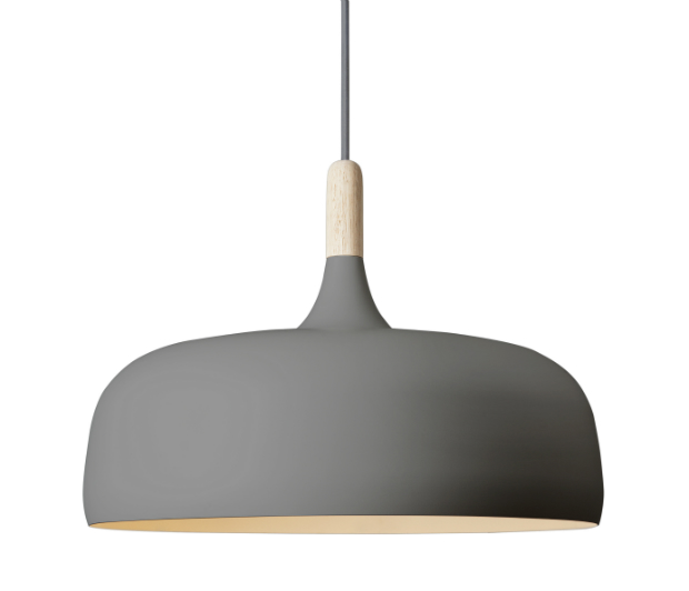 Northern Lighting Acorn_grey_pendant, Cloudberry Living £315.00