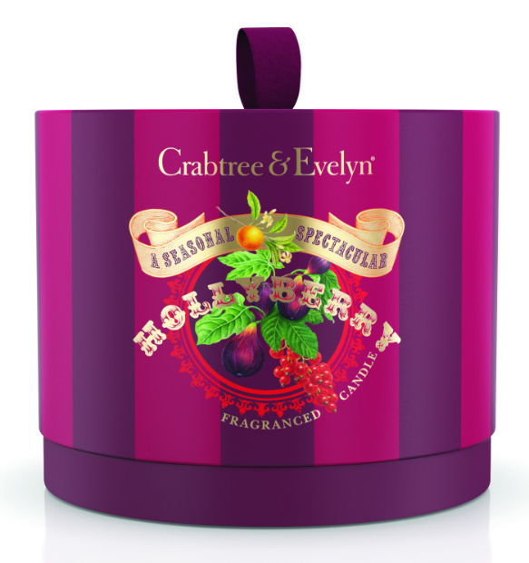 Hollyberry 3wick poured candle, Crabtree & Evelyn £32.00