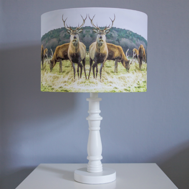 Stag Lampshade, In-Spaces £40.00