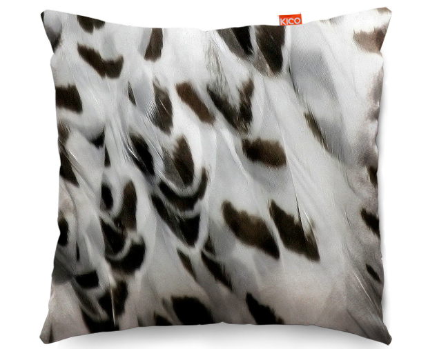 Snowy Owl Animal Skin Cushion, KICO Products £19.99