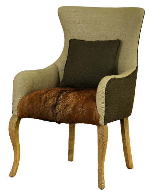 Megava Goat Skin Chair, Loftcat Home Ltd £455.00