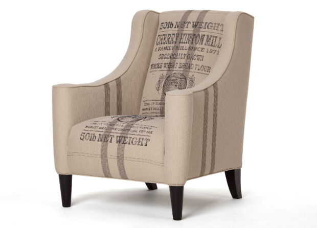 Juke Armchair, Wheat Sack Hessian, Made.com £499.00