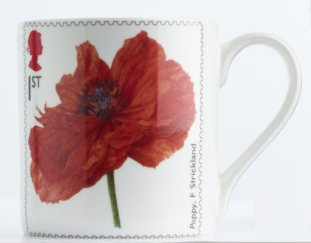 Imperial War Museum Poppy Mug, Royal Mail £8.00