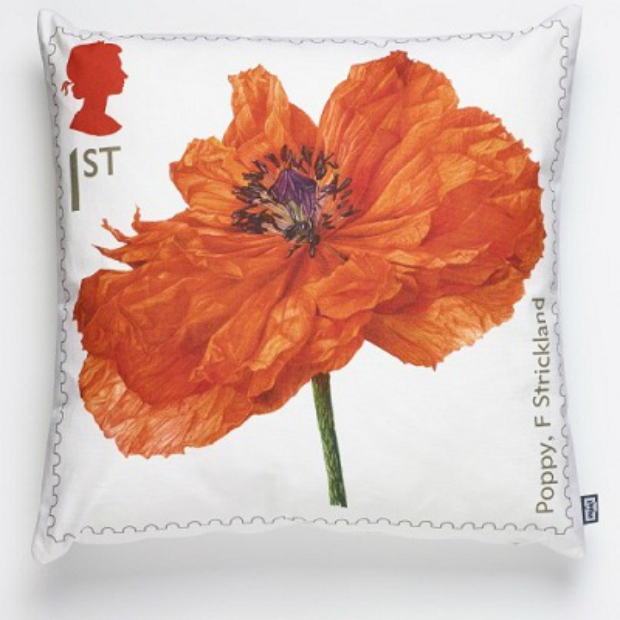 Imperial War Museum Poppy Cushion, Royal Mail £30.00