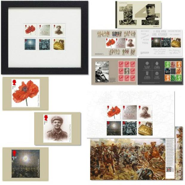 First World War 1914 Prestige Pack, Royal Mail £41.22