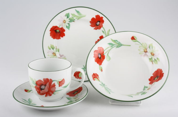 Royal Worcester - Poppies, China Search