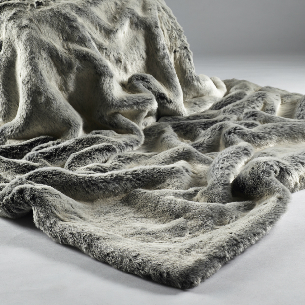 Alaska Fox Throw, Sweetpea & Willow £195.00