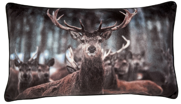 Croft Stag Cushion, Tesco £10.00