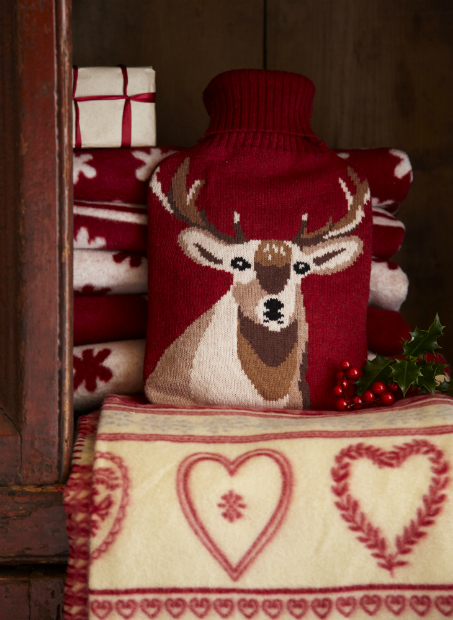 Dobbies Stag Hot Water Bottle, Tesco £14.99