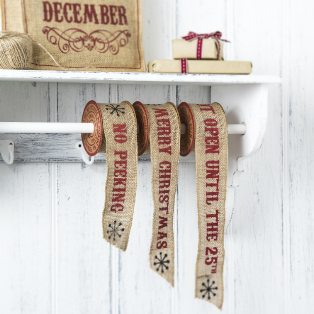 Jute Christmas Ribbon, The Contemporary Home £4.00