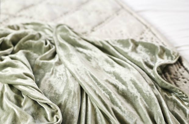 Fluid Velvet Throw, Kelly Hoppen Home £165.00