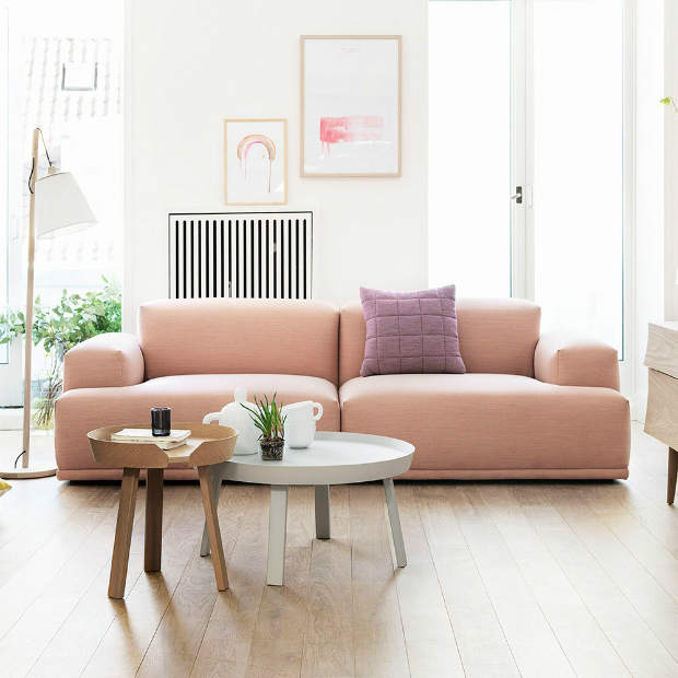 Muuto Connect Sofa Steelcut, Occa- Home £2,590.00
