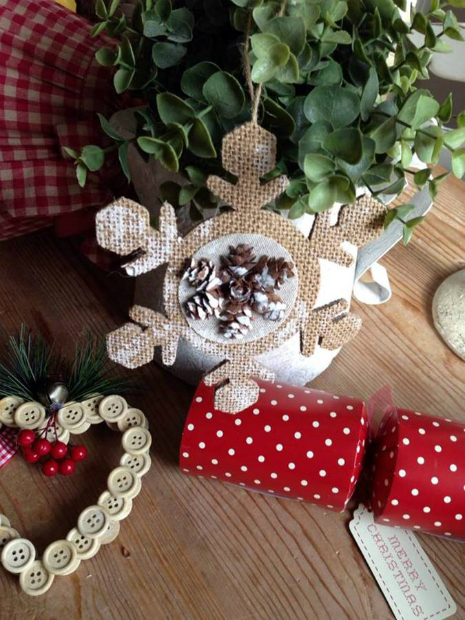 Christmas Snowflake Decoration, The Hiding Place £2.49