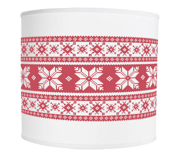 Fair Isle Lampshade, Hipster Spinster £35.00