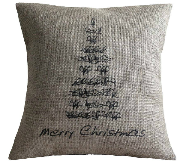 Vintage Style Christmas Tree Cushion, Vintage Designs Reborn £27.95