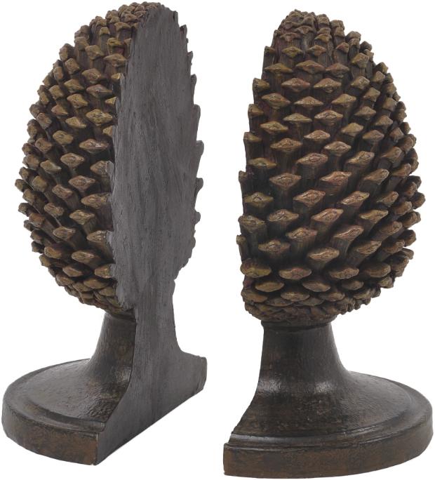 Pine Cone Bookends, Artisanti £36.00