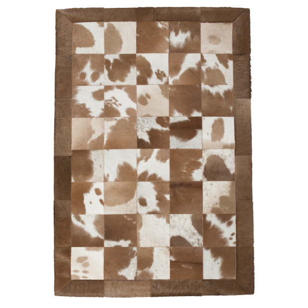 Patchwork Cowhide Rug, Atkin and Thyme £298.00