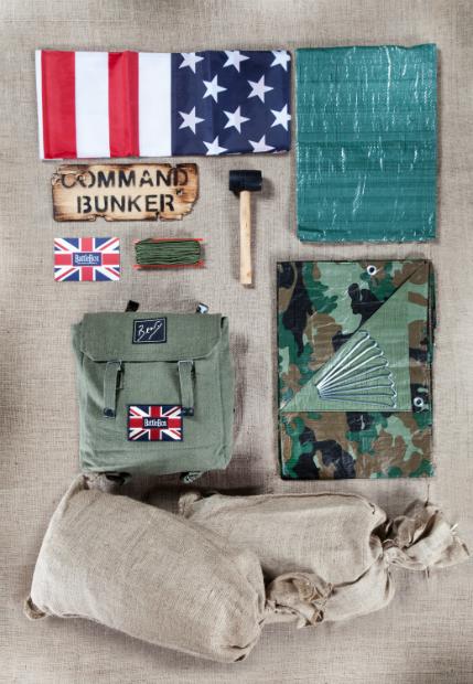 Bear Grylls Essential Den Kit, BattleBox £49.95