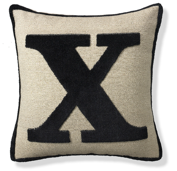 Letter X Cushion, M&S £10.00