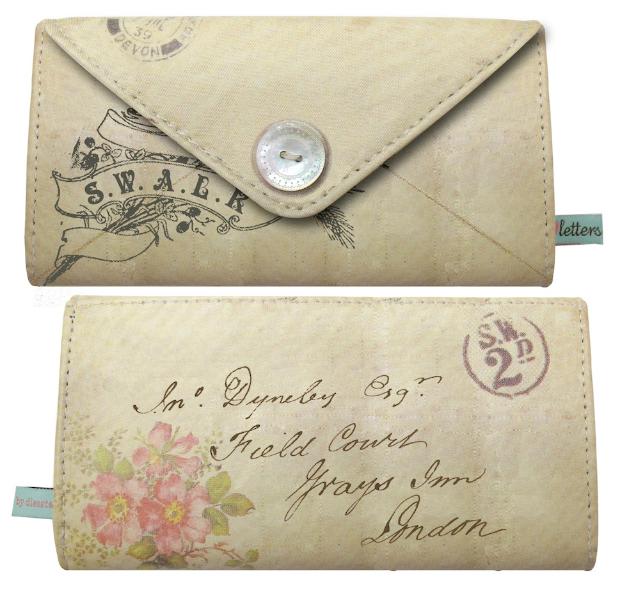 Love Letters Wallet Purse, Cloth-ears.co.uk £19.99