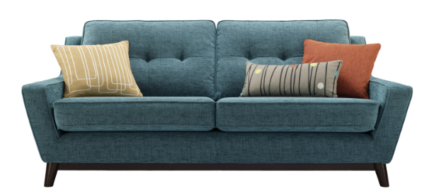 Fifty Three Large Sofa With Scatters, G Plan