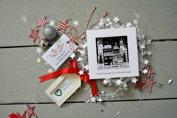 Christmas Card - Twas the Night, HoneyTreeBespoke.com £16.00