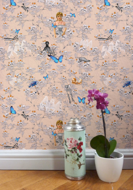 Wallpaper Victoria's Medley, Skeletons in the Closet, INSPACES £199.00