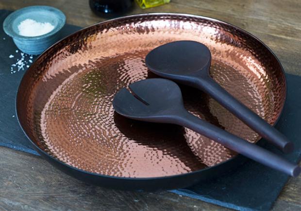 Just Slate Copper Server Set, Amara £60.00