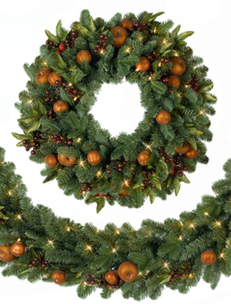 Orchard Harvest Wreath, Balsam Hill from £49.00