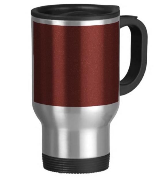 Travel/Commuter Mug, Zazzle £14.00