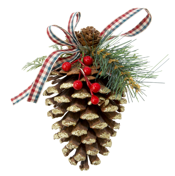 Pine Cone Hanging Decoration, Tesco £2.00