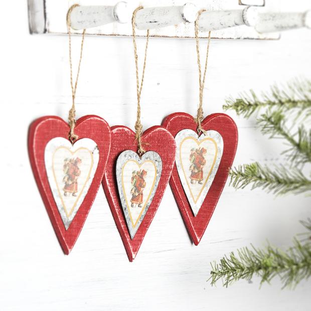 Nostalgic Heart Decoration, The Contemporary Home £3.00