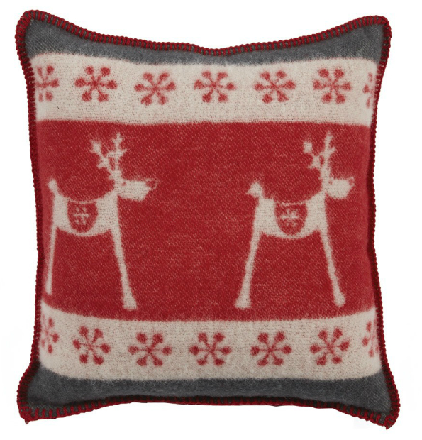 Autrement Dit Eternel Reindeer Cushion, Occa-Home £52.00