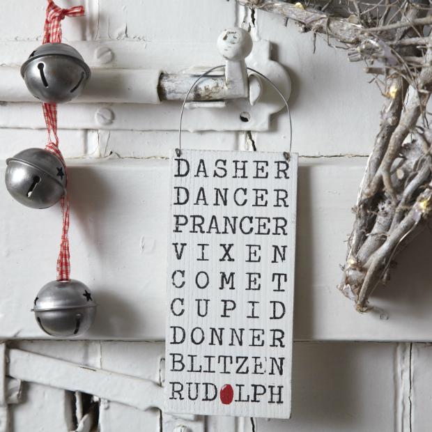 Rudolph Sign, live laugh love ltd £3.95