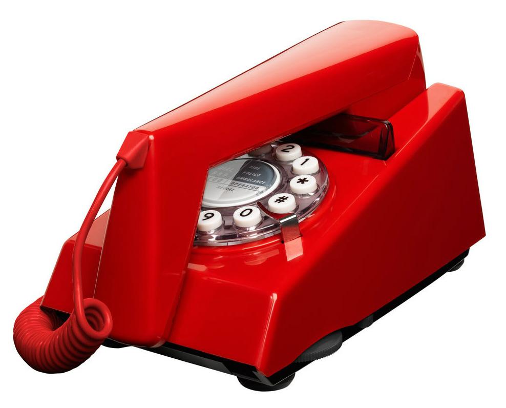 Trim Phone Box Red by Wild & Wolf, Bloomsbury Store £34.95