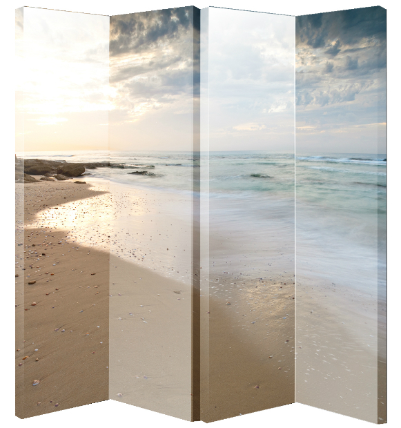 Beach 4 Panel Screen, Arthouse £90.00