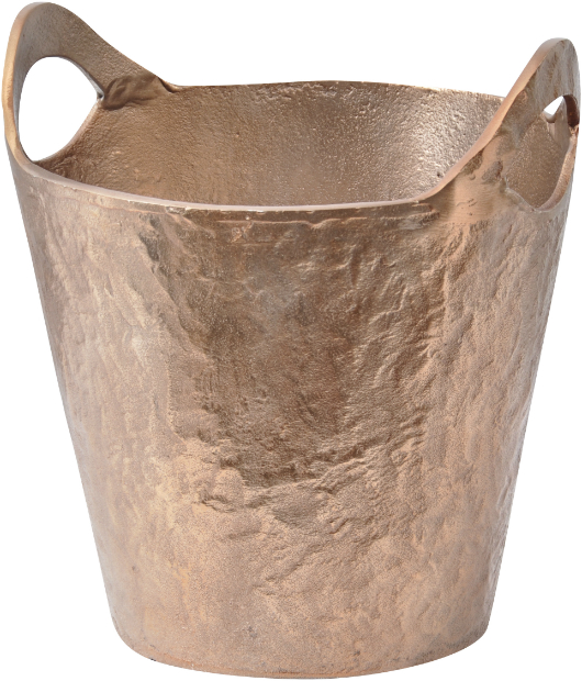 Franklin Metal Wine Cooler With Textured Copper Finish, Artisanti £54.00